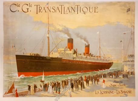 Compagnie Générale Transatlantique : Hâvre-New York
