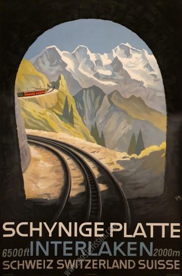 Schynige Platte : Interlaken