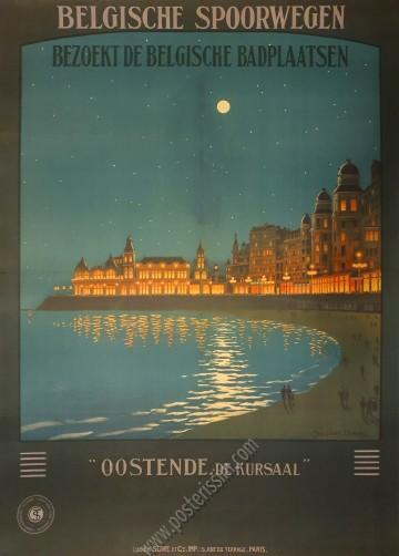 Belgische Spoorwegen : Oostende de Kursaal