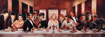 Last supper with Hollywood Legends
