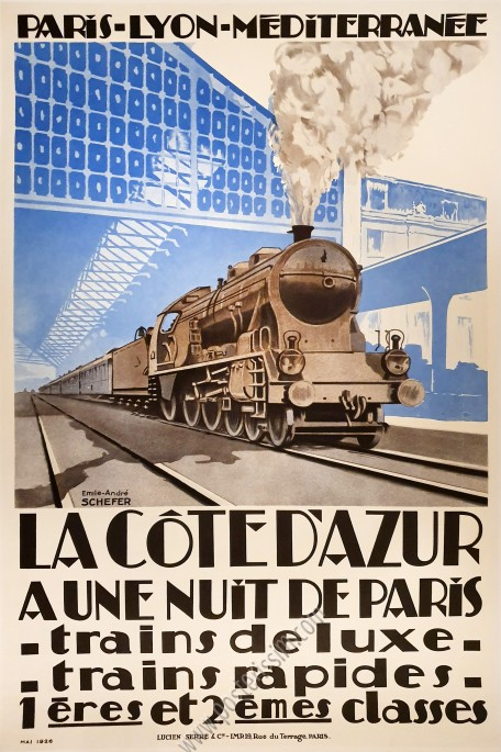 PLM : La Côte d'Azur à une nuit de Paris