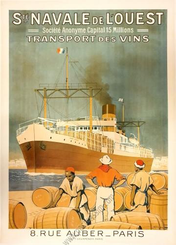 Société Navale de l'Oeust : Transport des vins
