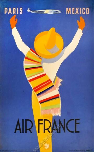 Air France :  Paris Mexico