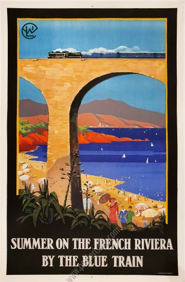 PLM : Summer on the French Rivera by the Blue Train